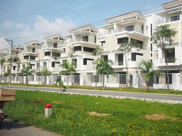 ベトナム郊外のマンション