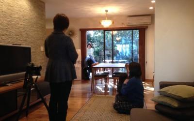「世代交代した家」が雑誌の取材を受けました