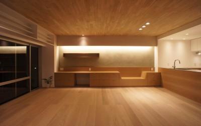 「ステージのある家」竣工写真
