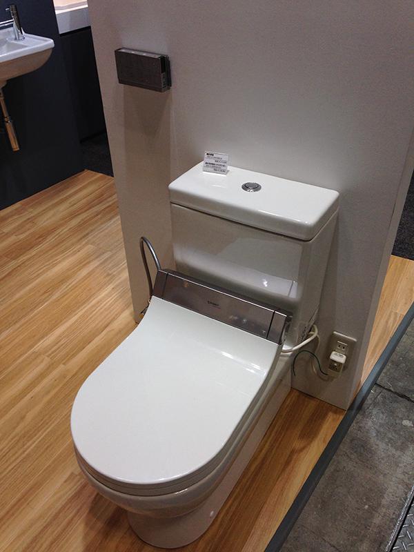 DURAVIT(ドイツ)初のスタルクデザインウォッシュレットトイレ