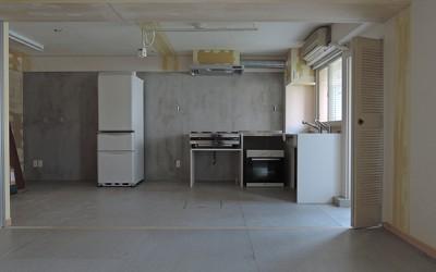 目黒の料理教室(仮称)完成間近