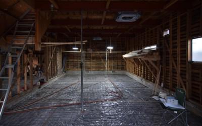 木造耐震改修の現場見学会を行います