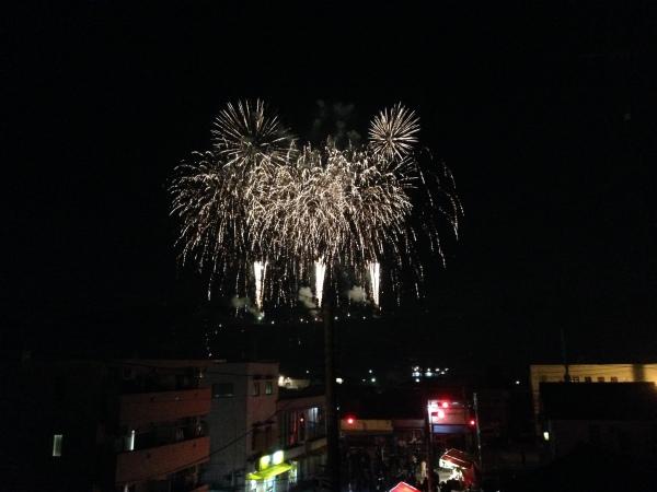 秩父の夜祭 花火