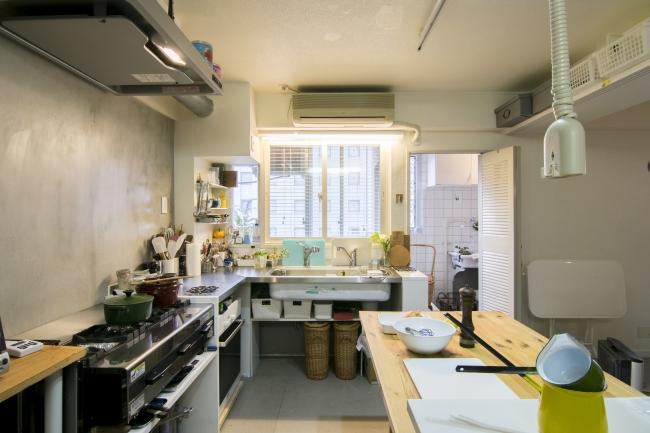 マンションリノベーション 料理スタジオ