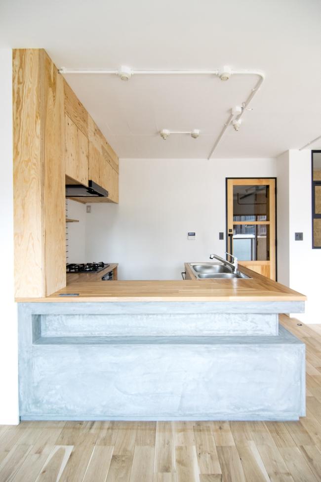 東京のマンションリノベーション キッチン