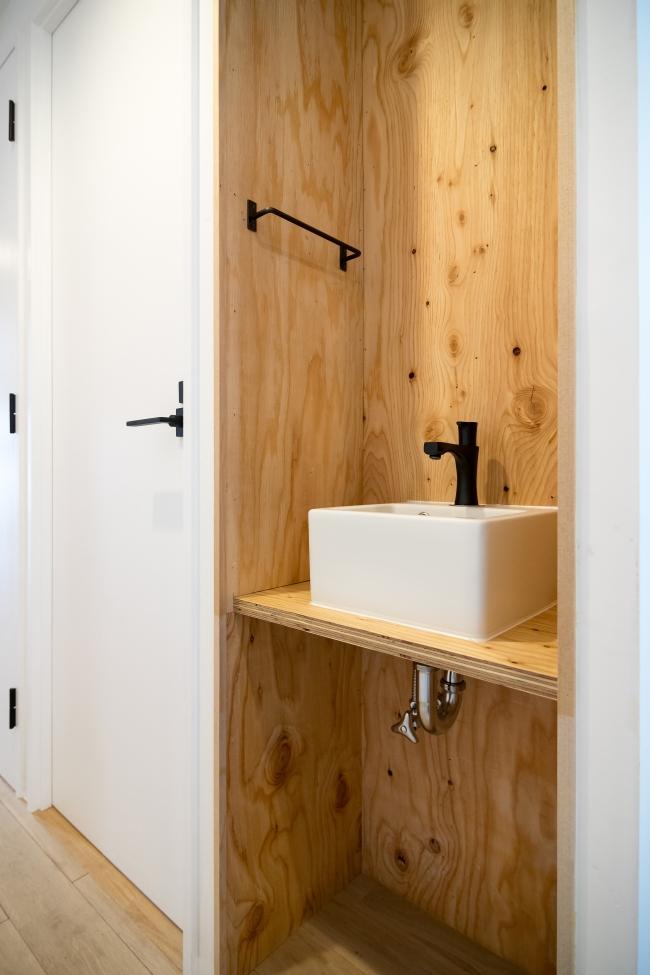 東京のマンションリノベーション 手洗い
