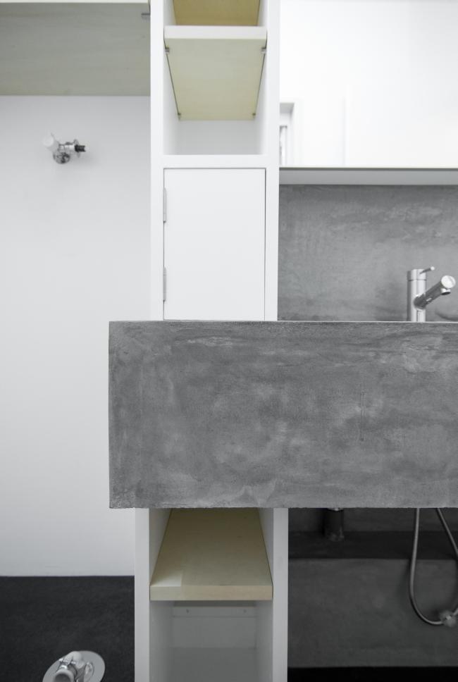 東京のマンションリノベーション 洗面