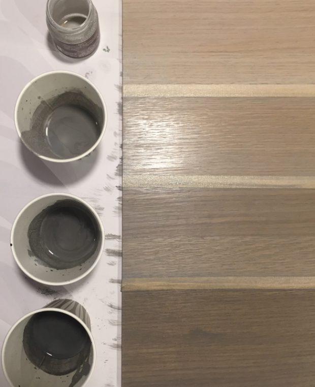 オイル塗装調色