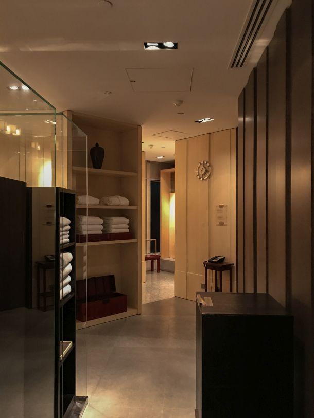Park Hyatt Shanghai 更衣室