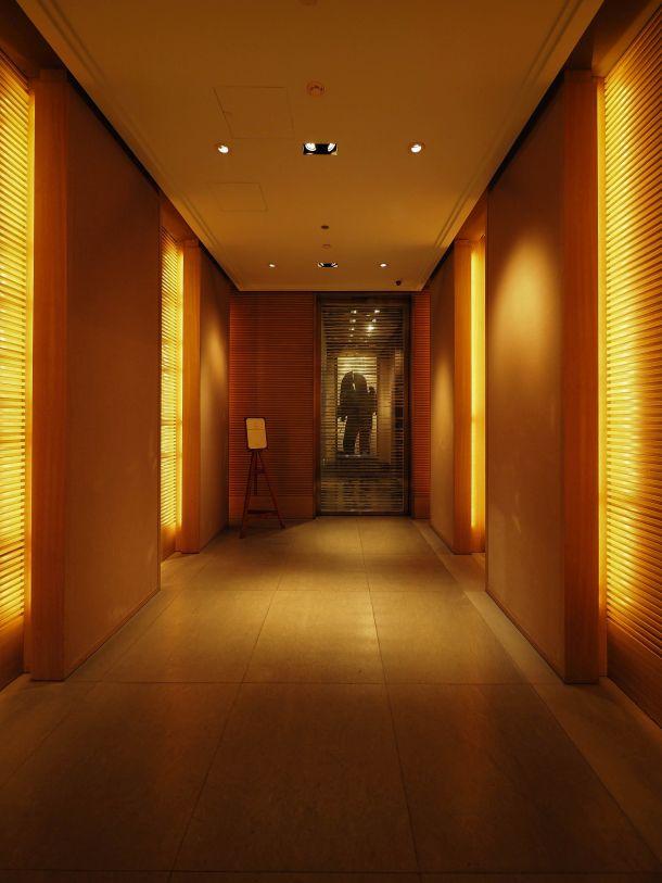 Park Hyatt Shanghai エントランスホール