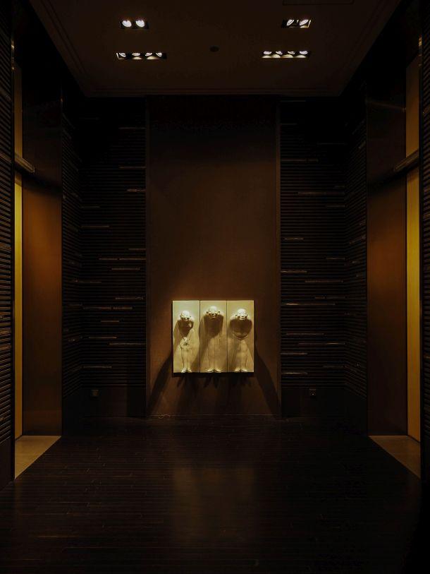 Park Hyatt Shanghai エレベーターホール