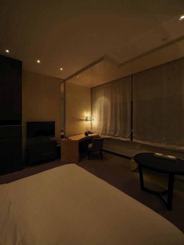 Park Hyatt Shanghai 夜の部屋
