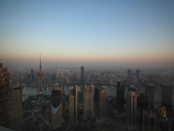Park Hyatt Shanghai 窓から