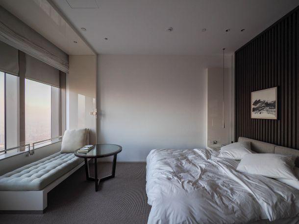 Park Hyatt Shanghai 朝の部屋