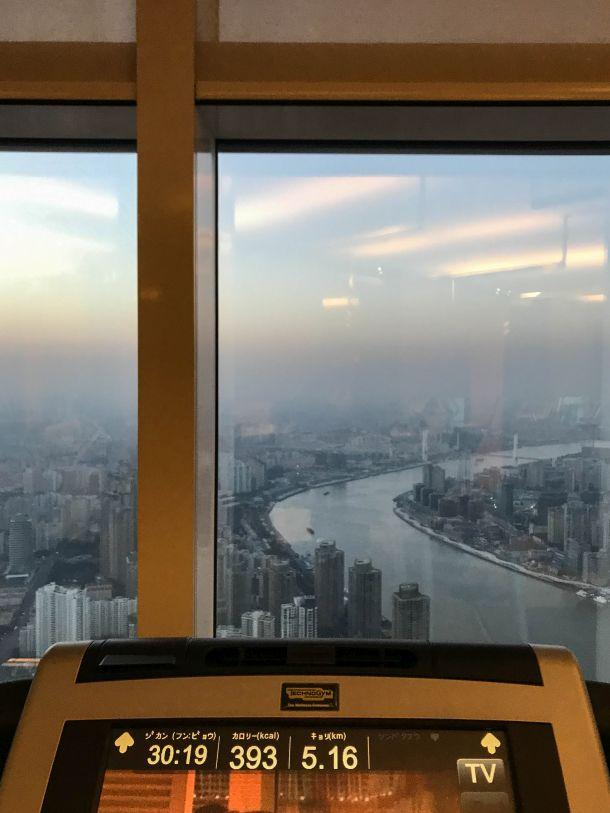 Park Hyatt Shanghai ジム