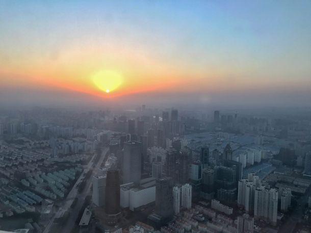 Park Hyatt Shanghai 日の出