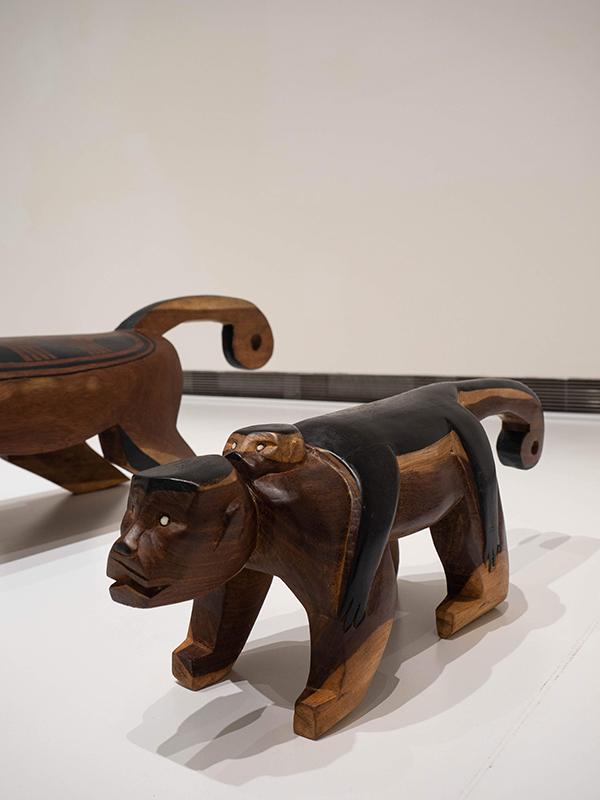 ブラジル先住民の椅子 8