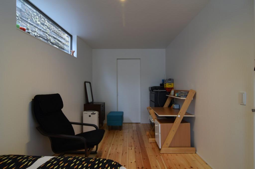 増築寝室WIC側
