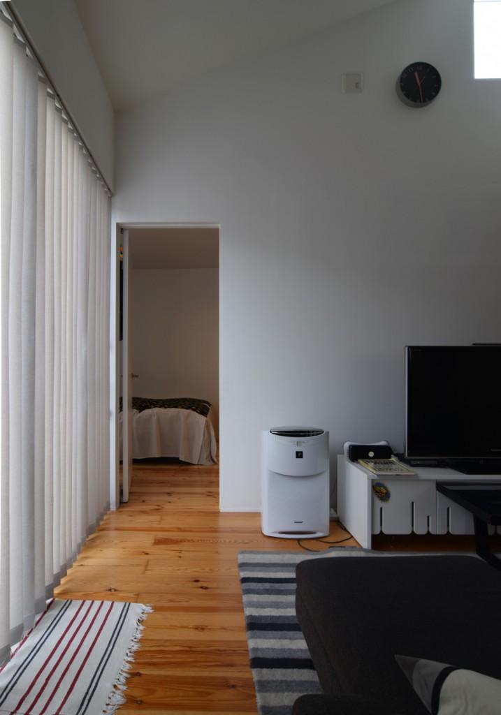 増築部寝室入り口