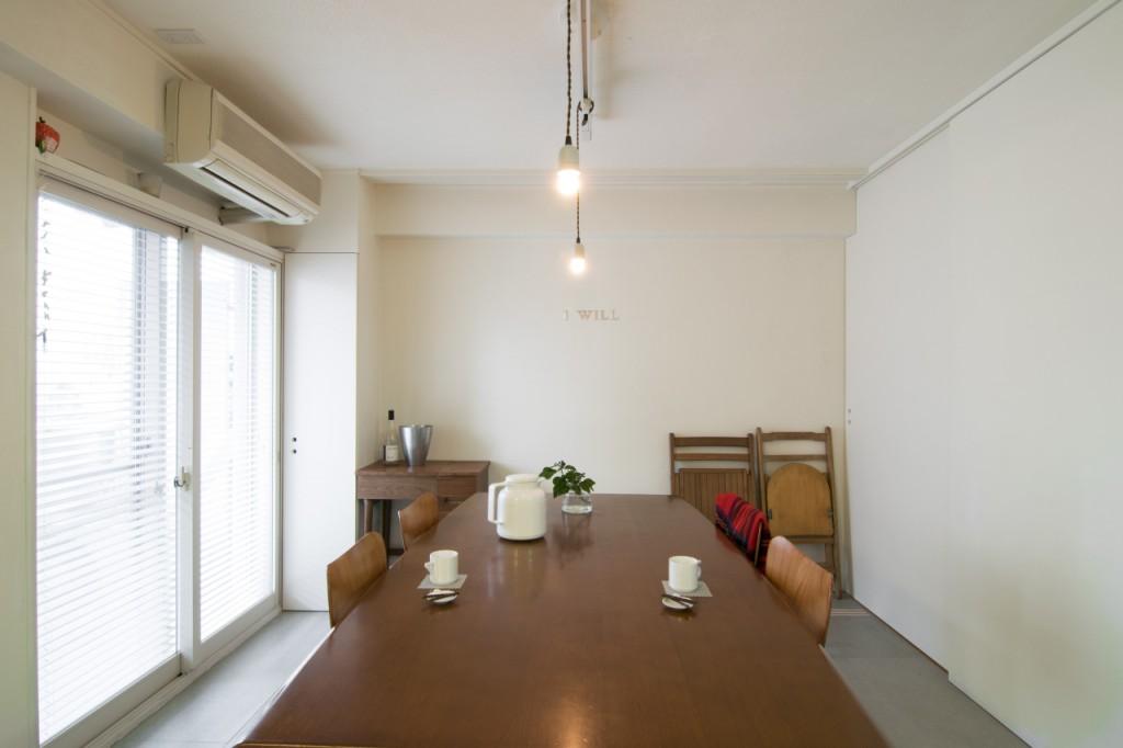 料理教室 試食スペース