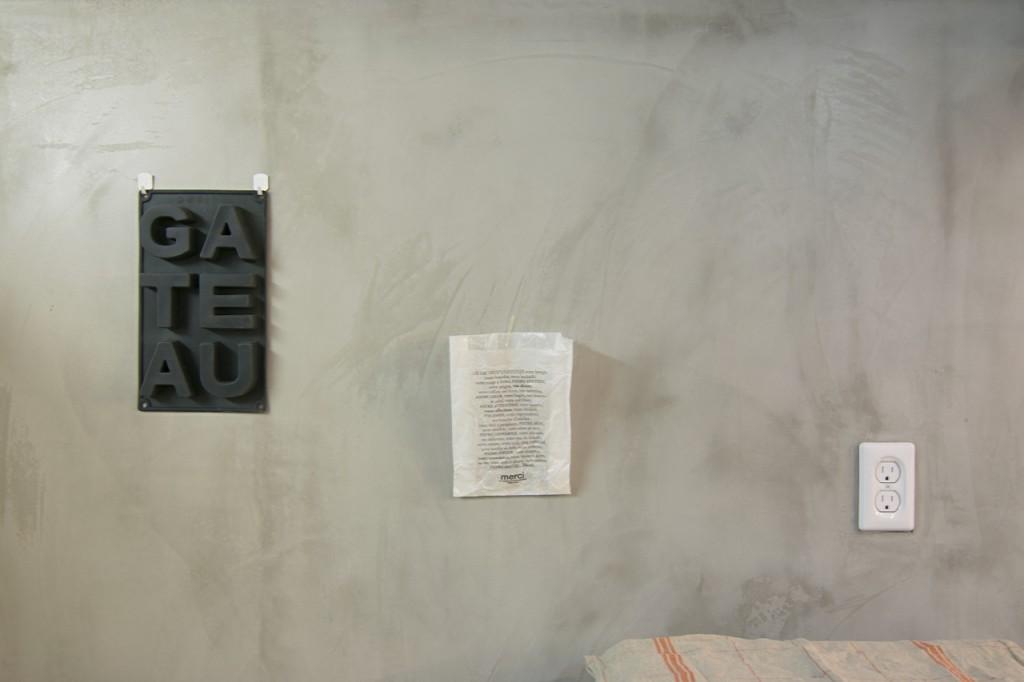 料理教室 モルタル壁