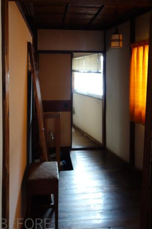 YK HOUSE 2F ビフォア洗面脱衣室