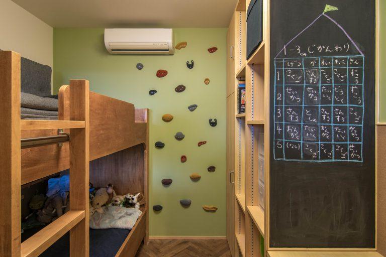 子ども室2段ベッド