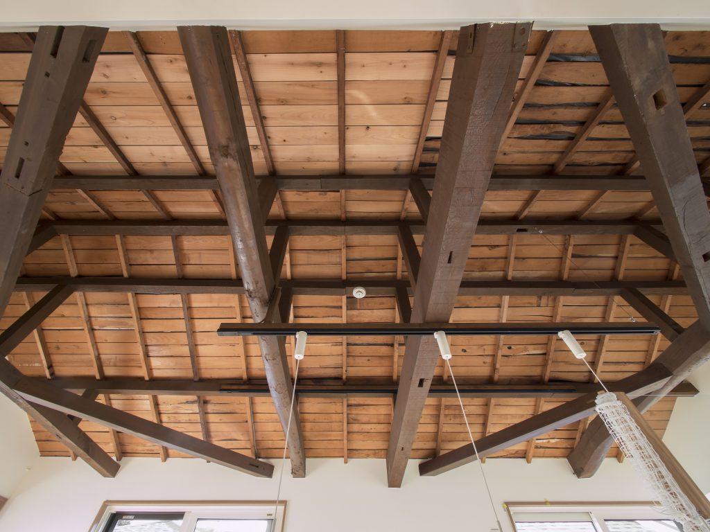 戸建てリノベーション 元の屋根下地