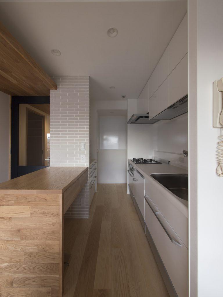 板橋マンションリノベーション キッチン