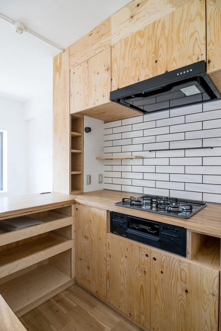 マンションリノベーション 制作キッチン