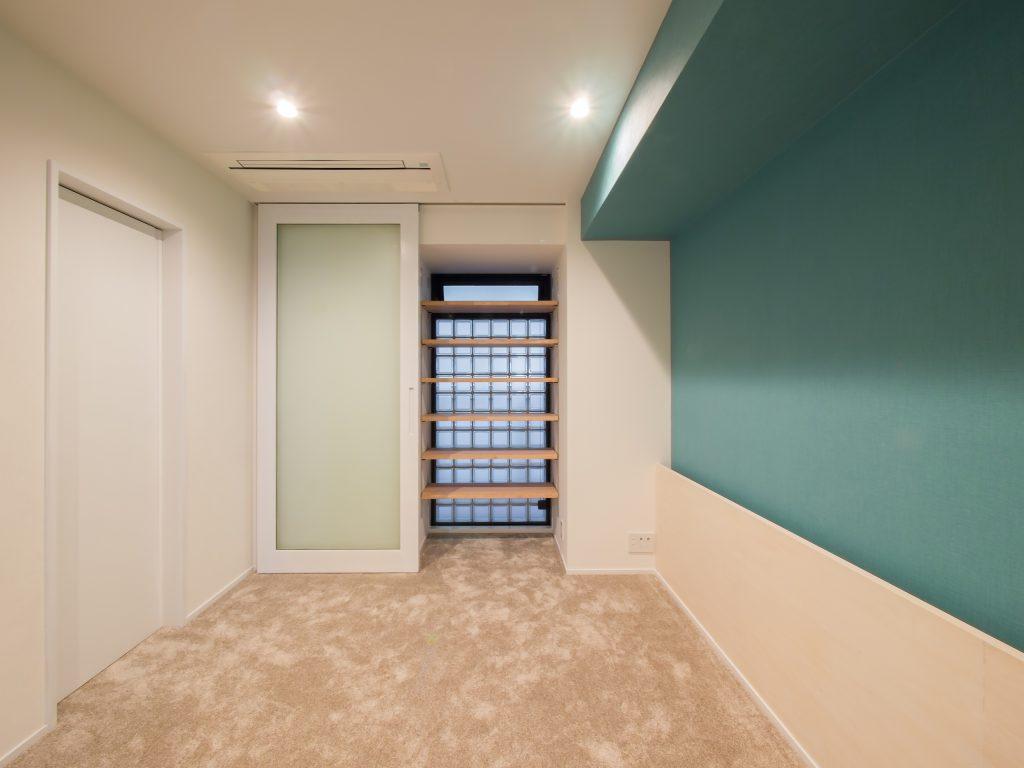 港区のマンションリノベーション 寝室