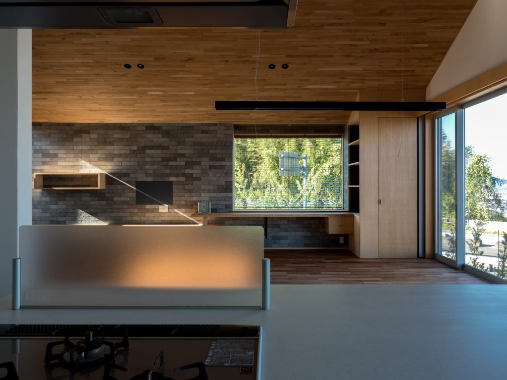 キッチンからの眺望