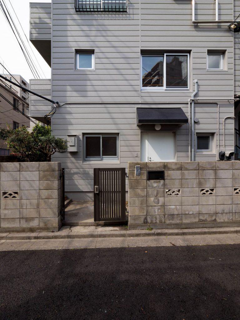 壁孔の家 外観