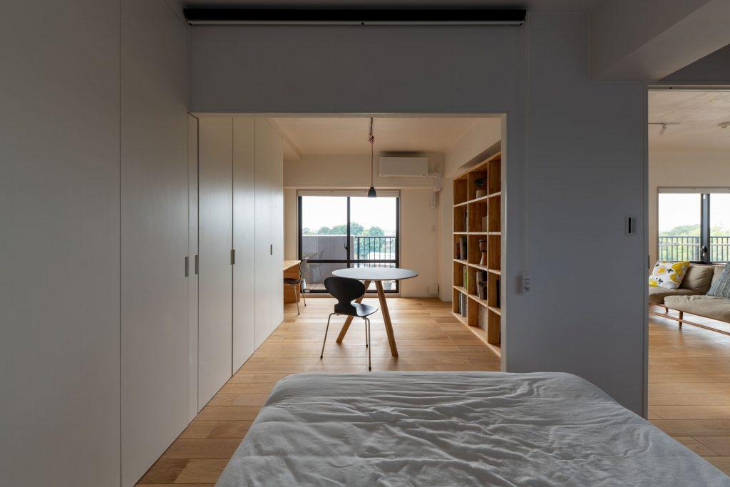 寝室からワークスペース